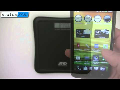 A&D UC-324NFC wireless scale with NFC
