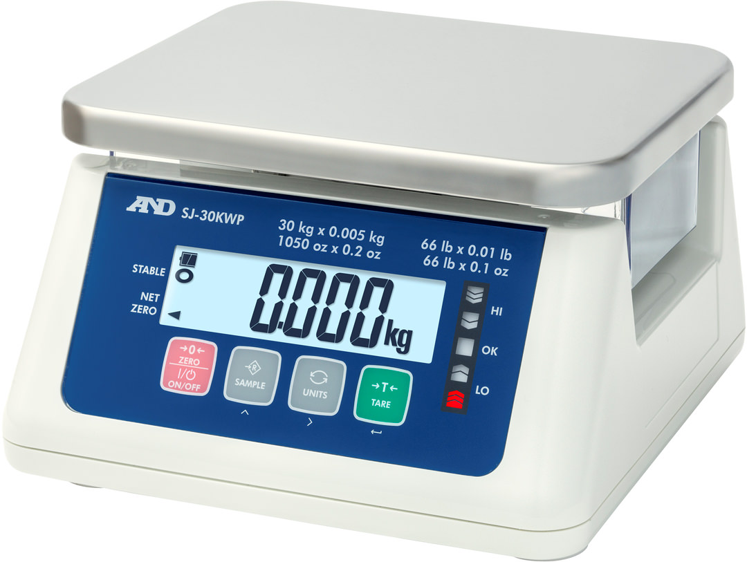 A&D SJ-30KWP Food Scale