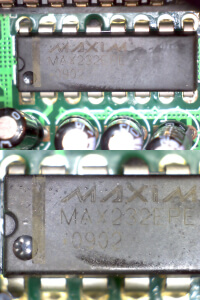 Counterfeit MAX232EPE+