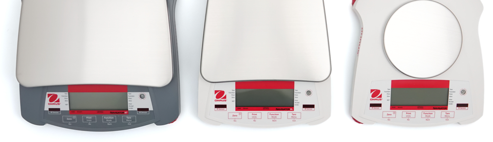 Photo: Ohaus Navigator product range