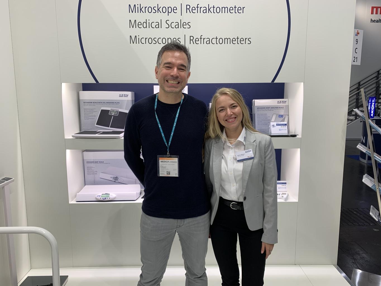Kern & Sohn at Medica 2019